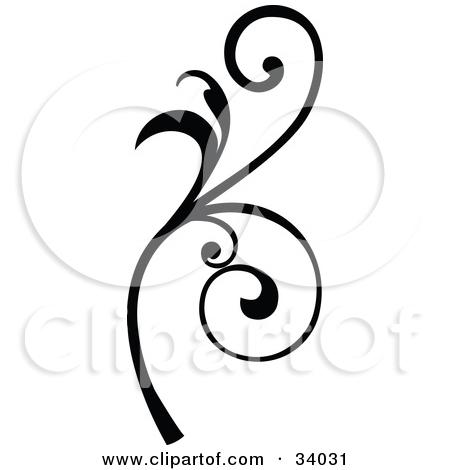 450x470 Scroll Clipart Vine