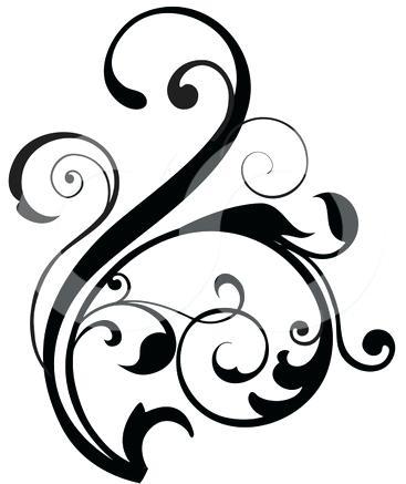 367x437 Clipart Design Cross Scroll Free Download Clip Art Free Clip Art