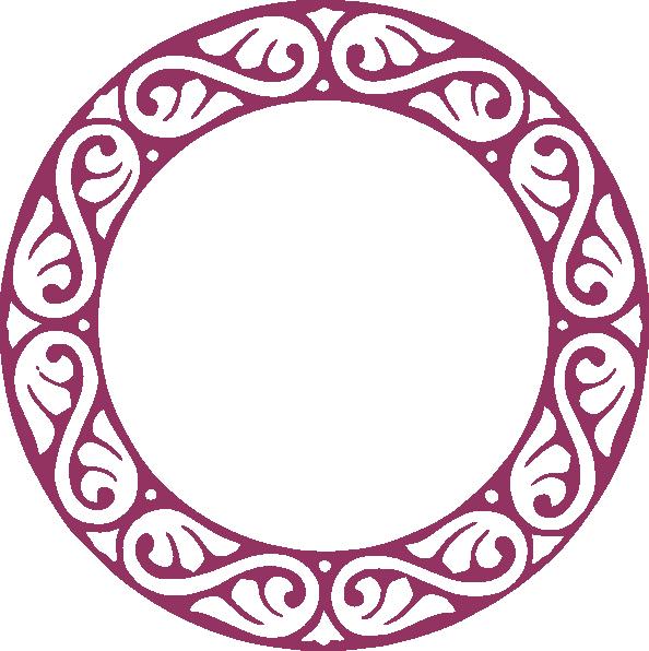 594x596 Scroll Circle Clip Art