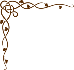 299x282 Brown Scroll Clip Art
