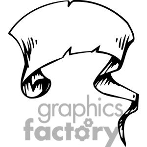 300x300 Banner Scroll Clip Art