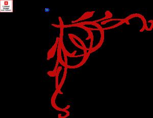 300x231 Red Heart Border Clip Art