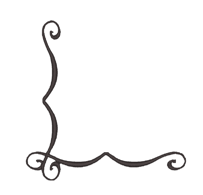 830x797 Black And White Scroll Designs Clip Art