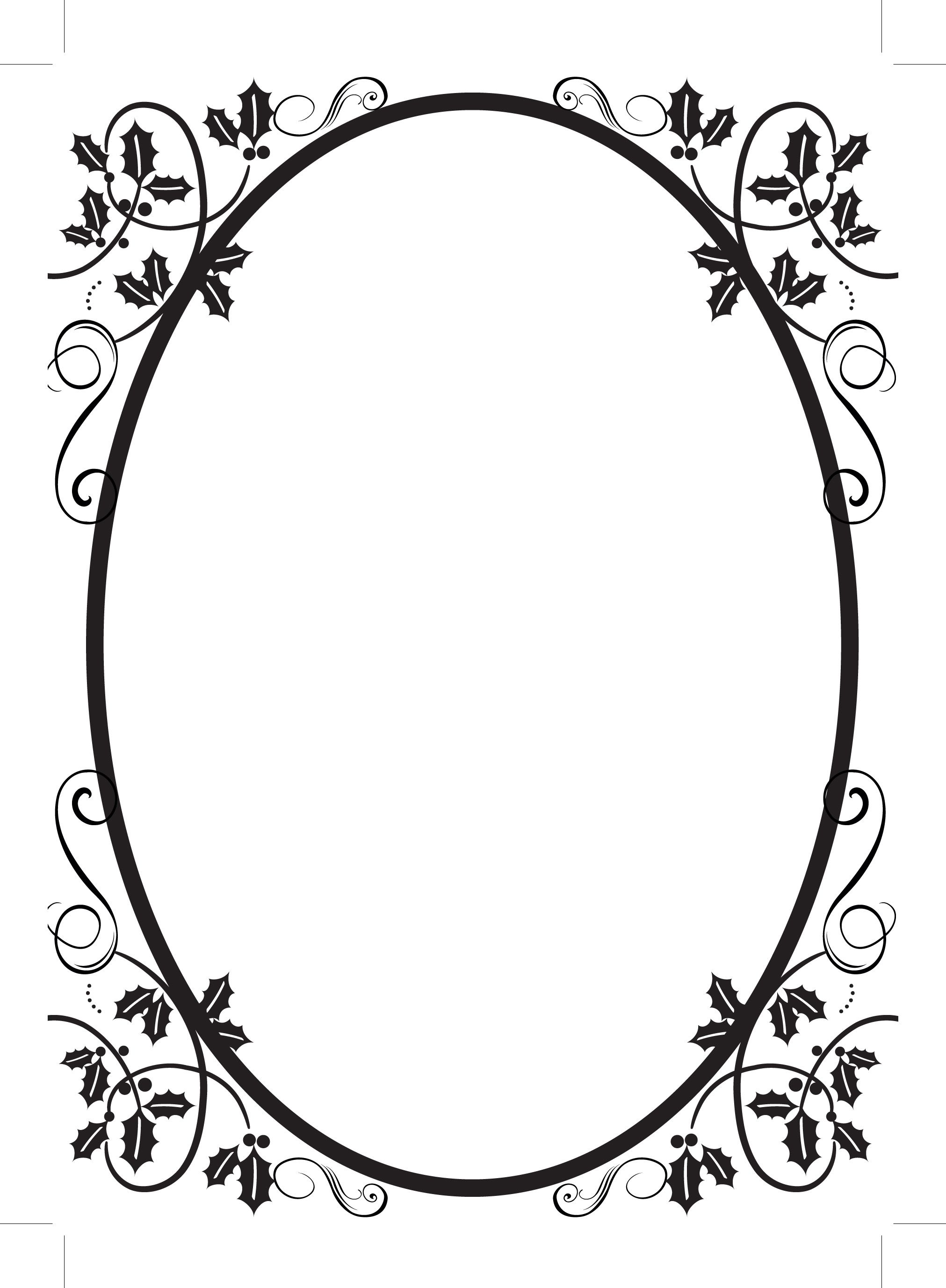 2023x2755 Filigree Border Clipart Best, Oval Scroll Border Clip Art