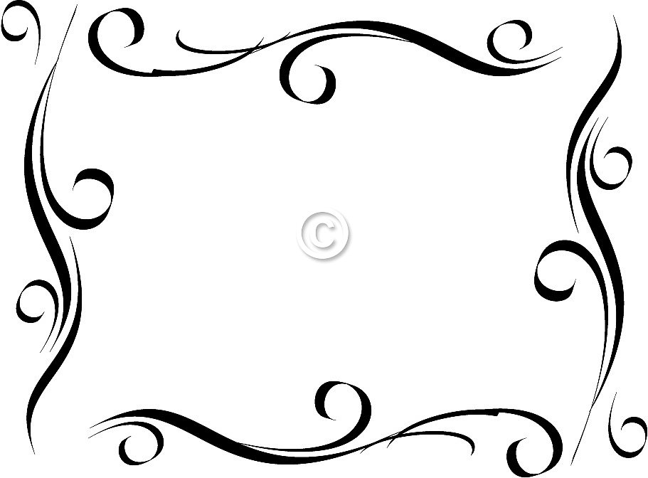 911x672 Free Borders Free Clip Art Borders Scroll Clipart Images 2