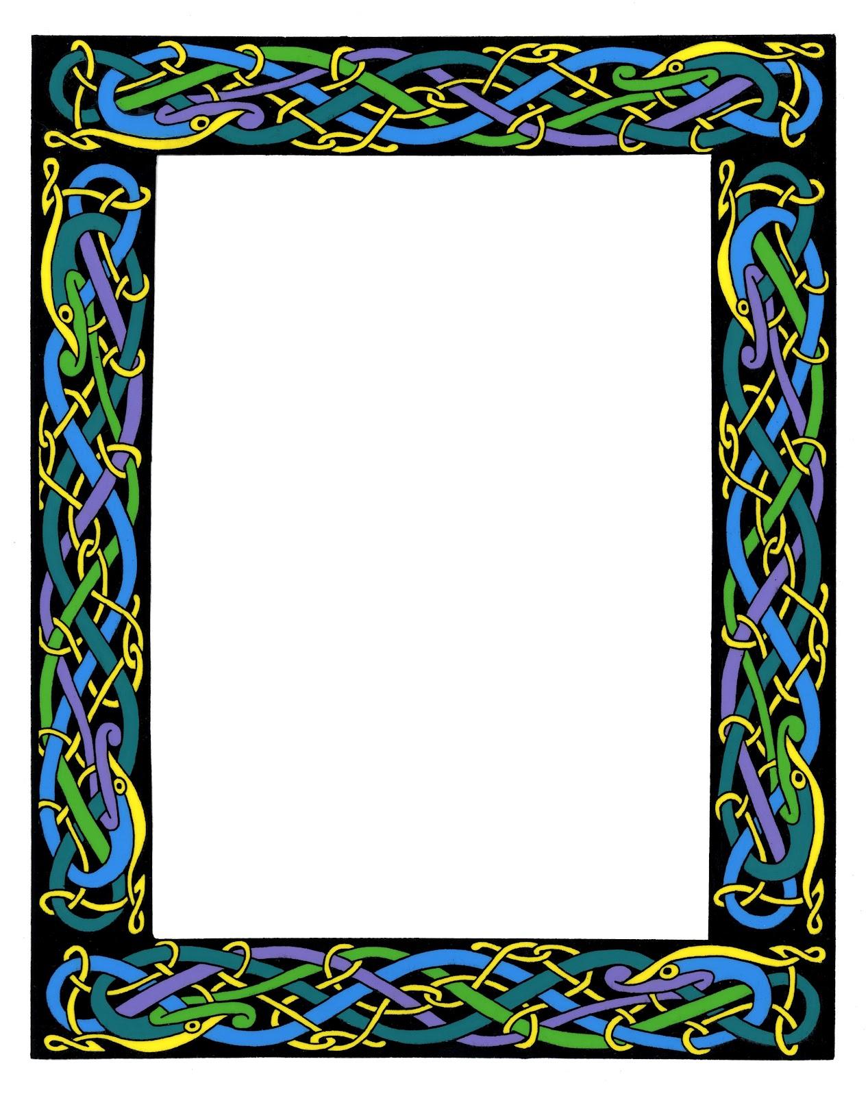 1267x1600 Wiccan Clipart Fancy Scroll