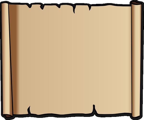 600x500 Scroll Clip Art