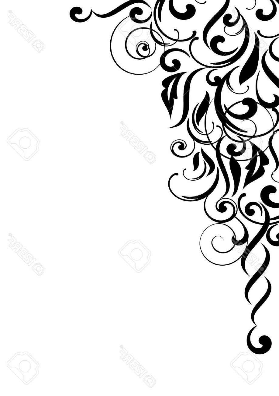 918x1300 Top 10 Abstract Curve Background Stock Vector Floral Design Scroll