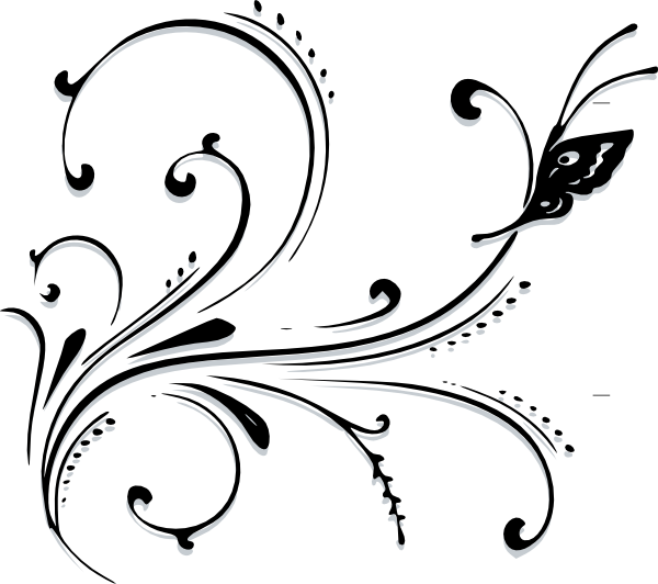600x532 Graphics For Victorian Scroll Graphics