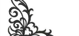 272x125 Scroll Design Embroidery Design Annthegran On Scroll Design
