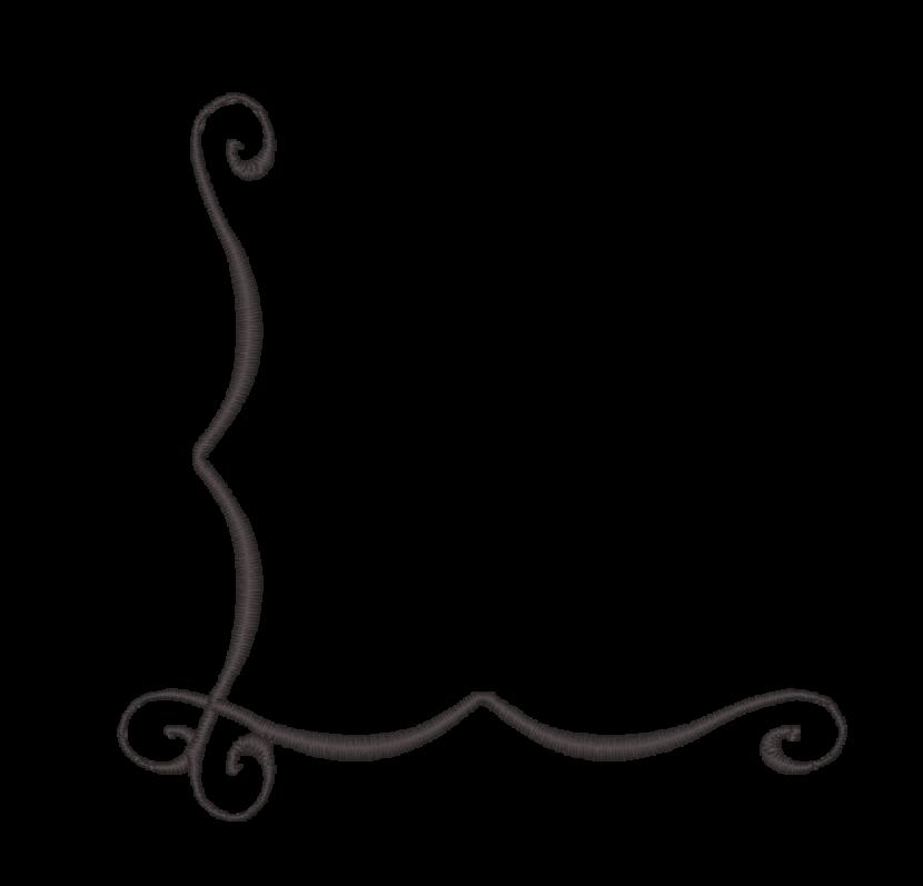 830x797 Free White Scroll Clip Art