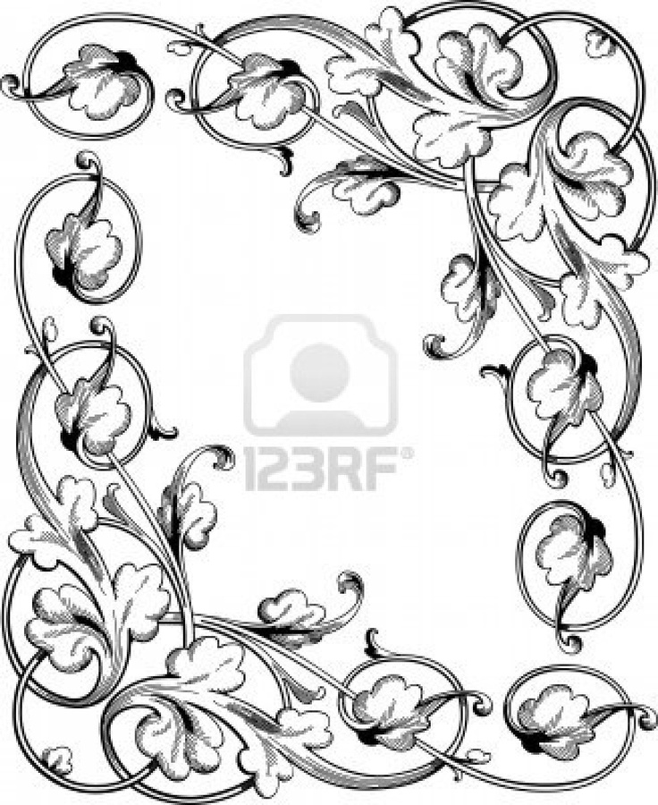 Scroll Designs Clipart