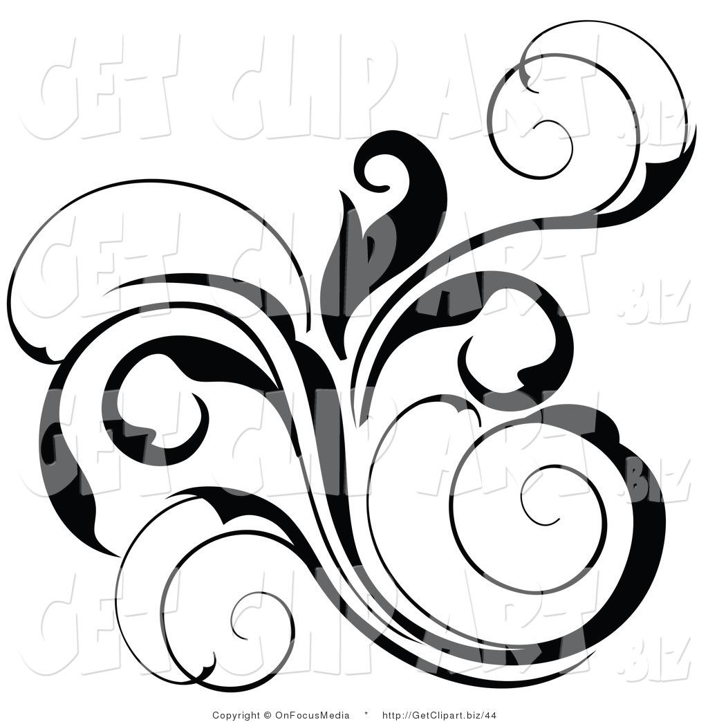 1024x1044 Floral Scroll Designs Clip Art