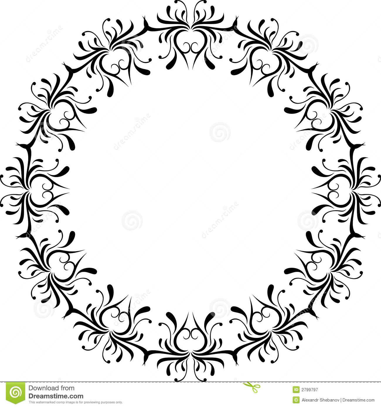 1300x1390 Scroll Design Clipart