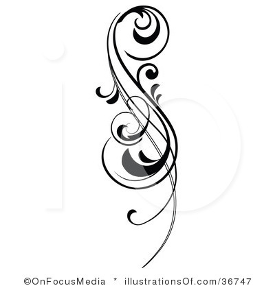 400x420 Clipart Scroll Designs