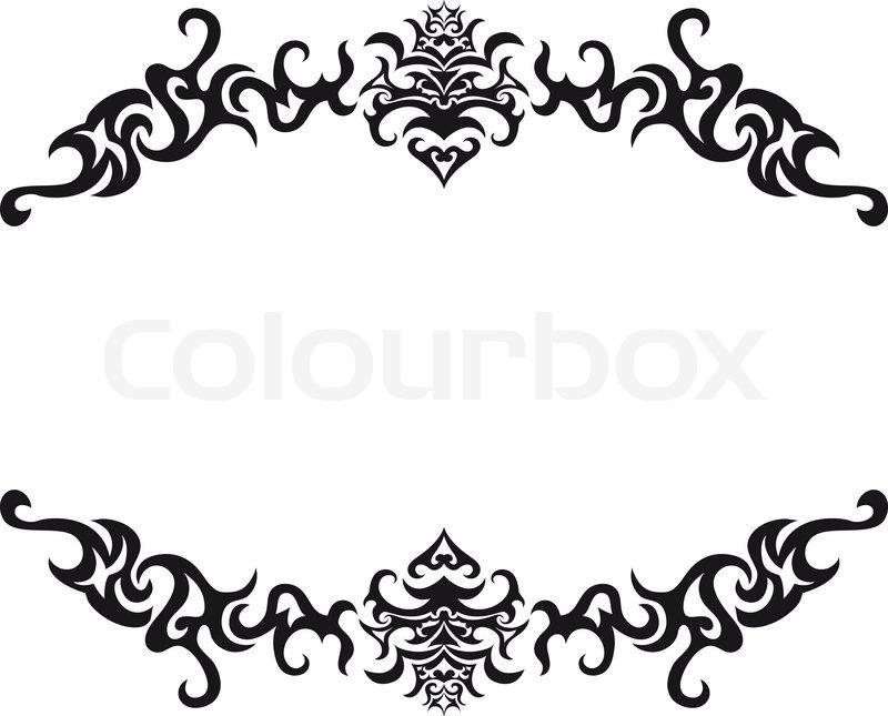 800x645 Gothic Clipart Scroll
