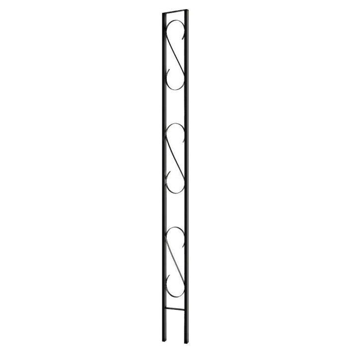 728x728 Outdoor Steel Scroll Design. Steel Scroll Designs. Steel Garden