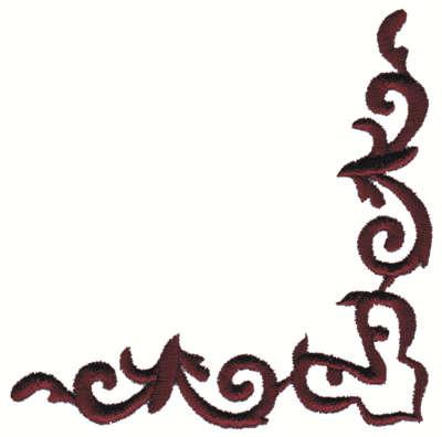 400x396 Stylized Scroll Work Lineltbrgt4.01 X 1.18, John Deer's Ultimate Stash