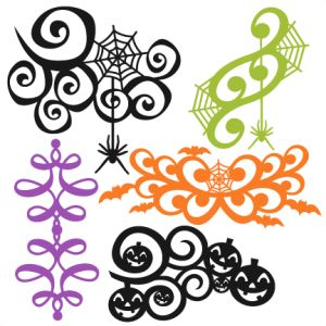 Scroll Flourish Clipart