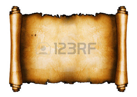 450x319 Medieval Clipart Scroll