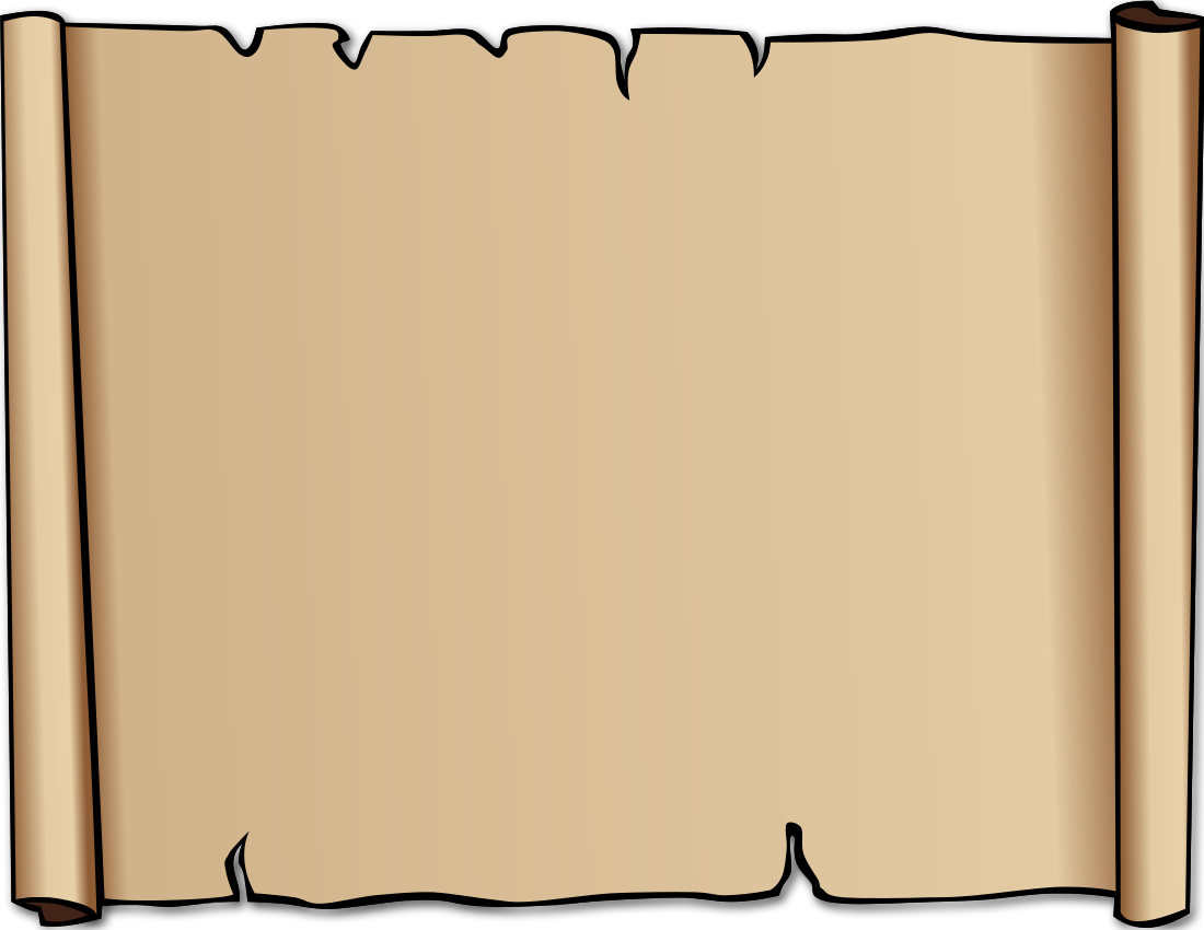 1100x850 Paper Scroll Background Clipart Kid