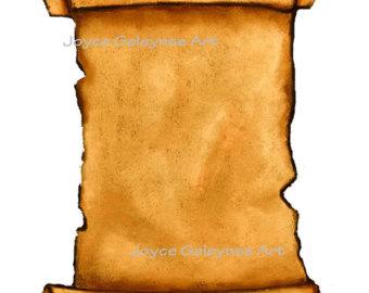 340x270 Bible Scroll Clipart