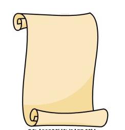 244x254 Scroll Clipart Open