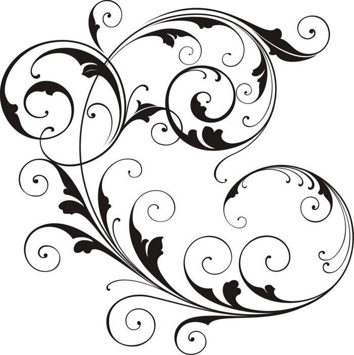 Scroll Vector Art Clipart