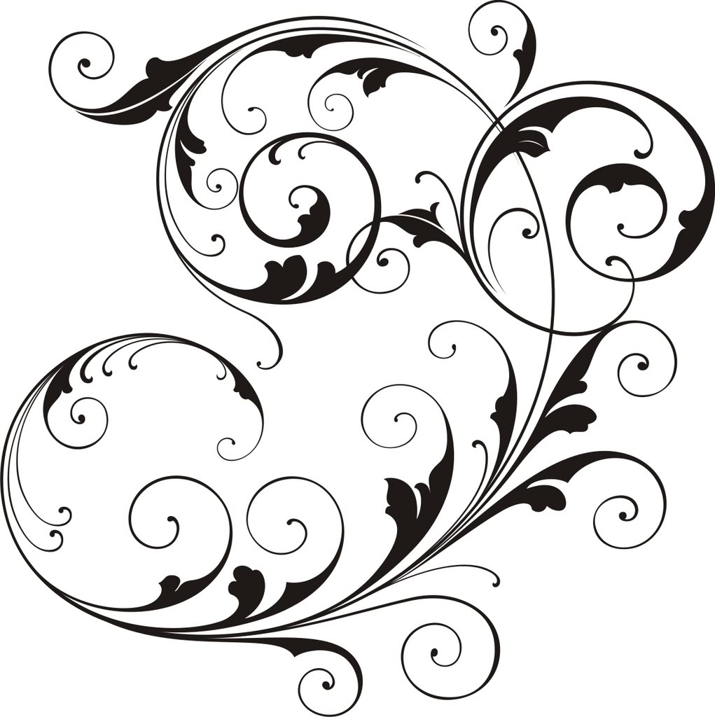 1021x1024 Scrollwork Simple Scroll Design Clip Art Free Clipart Images