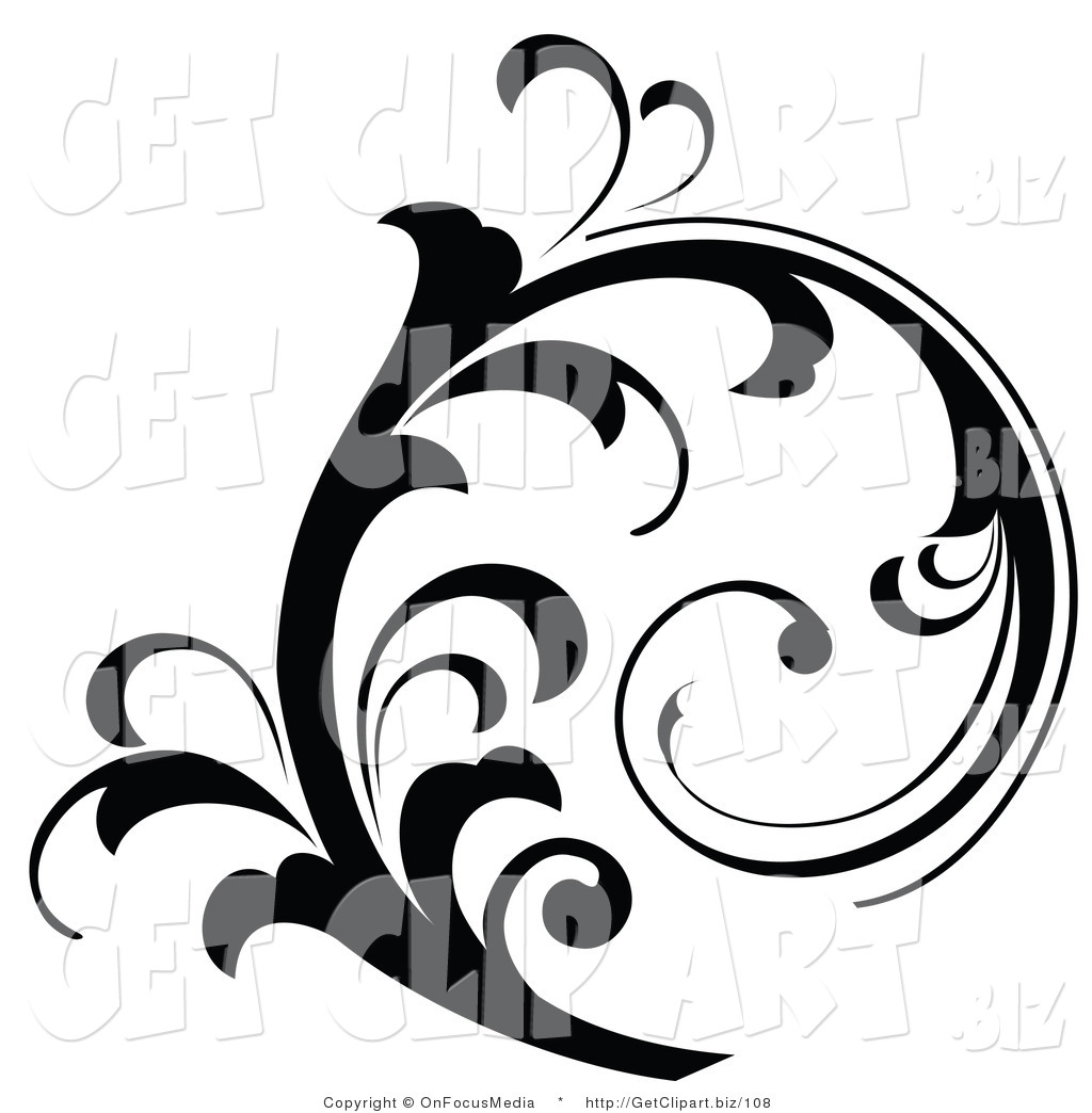 1024x1044 Scroll Work Clipart Cliparthut