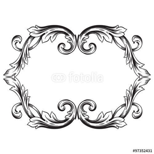 Scrolled Frames