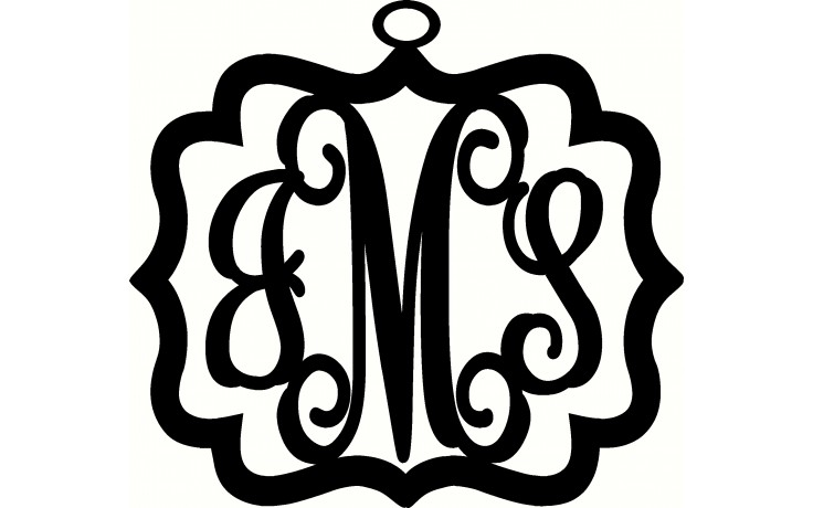 736x460 Metal Boutiques Scrolly Metal Monogram Let Us Personalize Your Home
