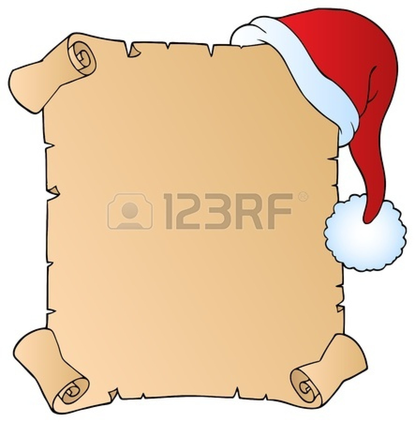 1329x1350 Letter clipart scroll