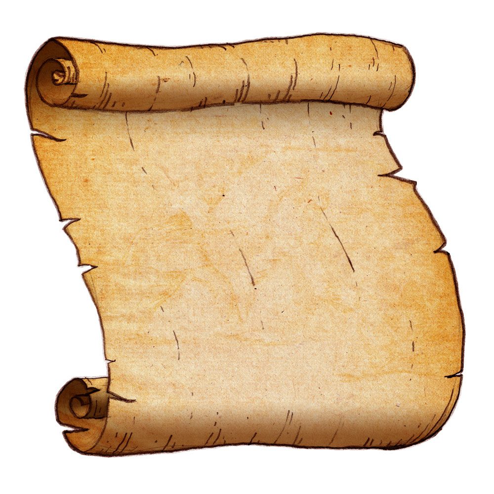1000x1000 Photos of vertical scroll banner clip art parchment