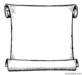 285x261 Scroll images clip art clipart