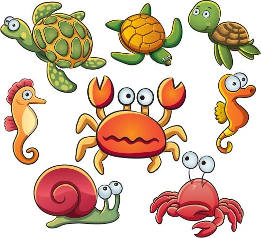 Sea Animals Clipart   Free download on ClipArtMag