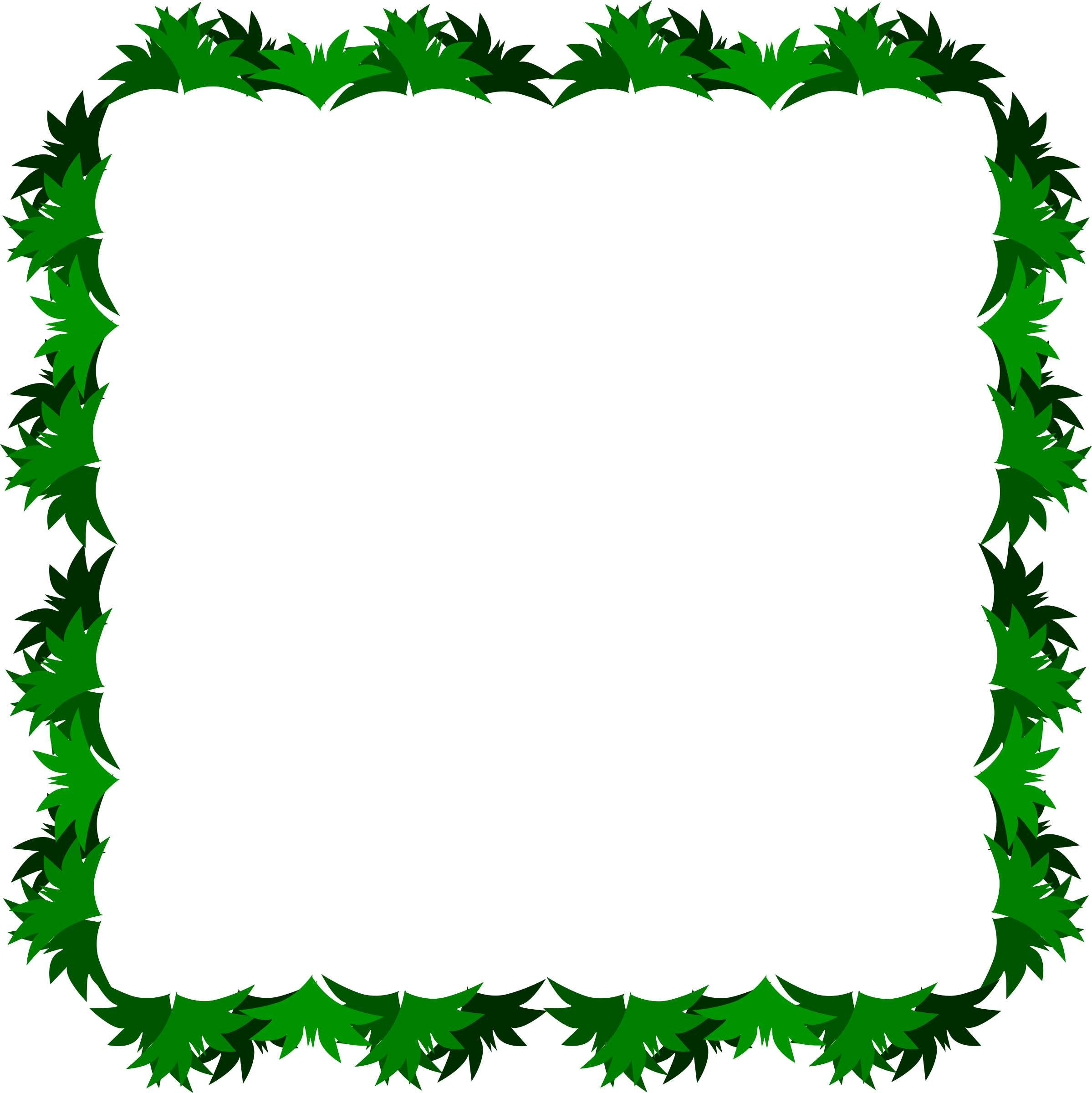 2398x2400 Sea Grass Clipart Grass Border