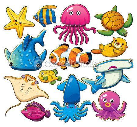 Sea Creature Clipart