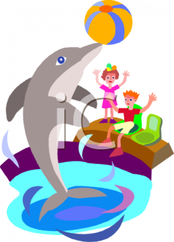 252x350 Royalty Free Dolphin Clip Art, Fish And Sea Life Clipart