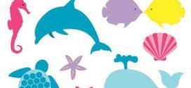 272x125 Sea Animal Clipart Sea Animal Clip Art Sea Creatures Fish On Sea