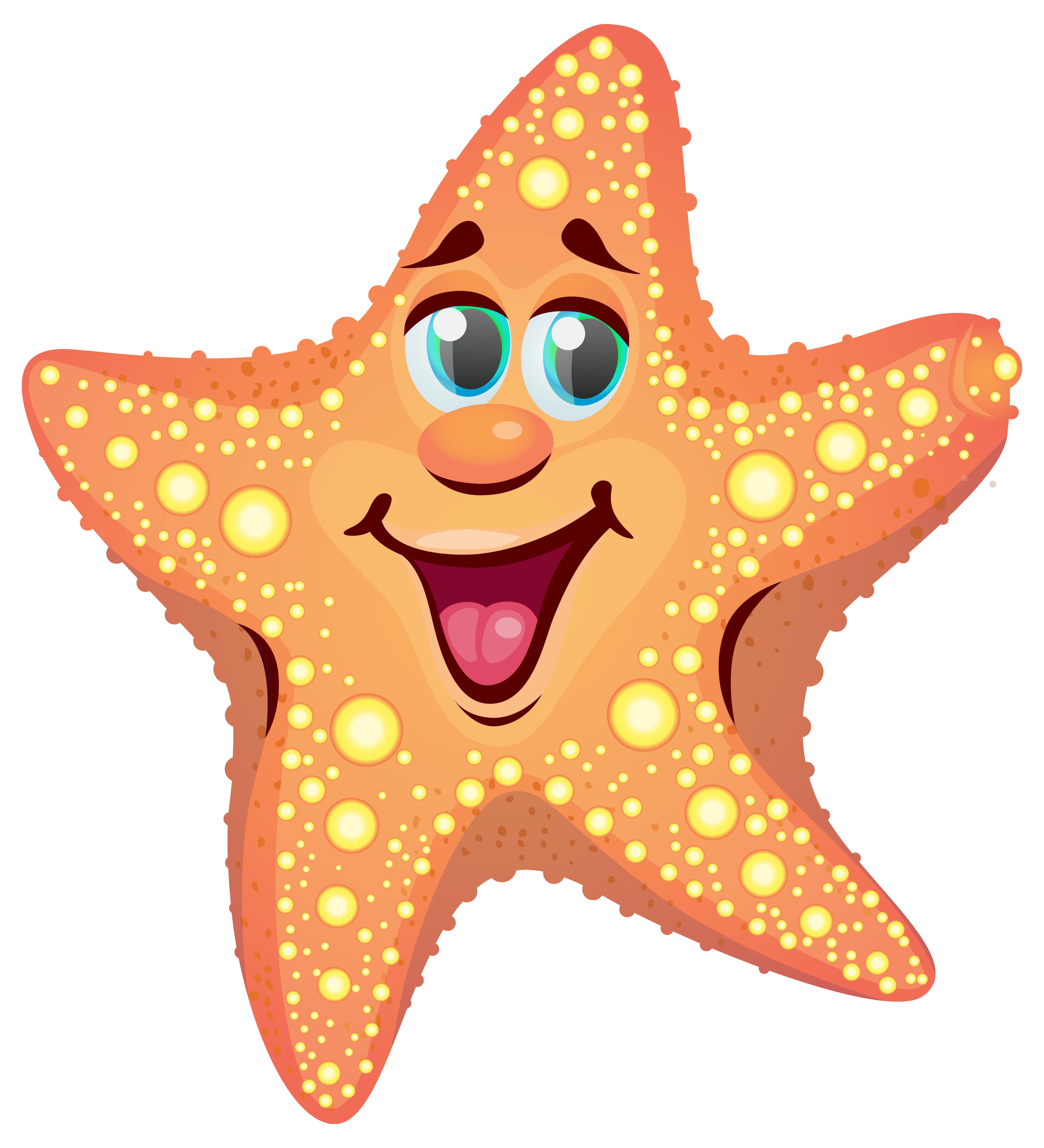 5773x6346 Star Fish Clip Art