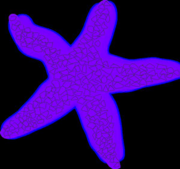 600x563 Starfish Orange Vector Clip Art Image