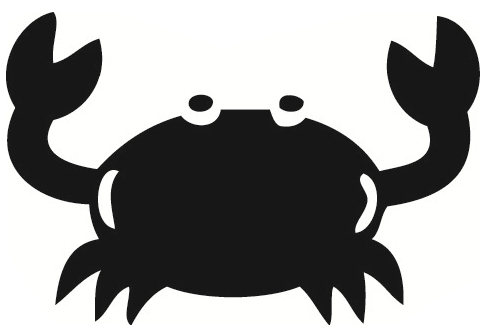 498x335 Crab Black And White Crab Clip Art Black And White Free Clipart