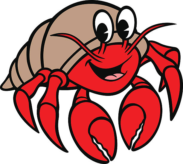 612x551 Hermit Crab Clipart Red Crab