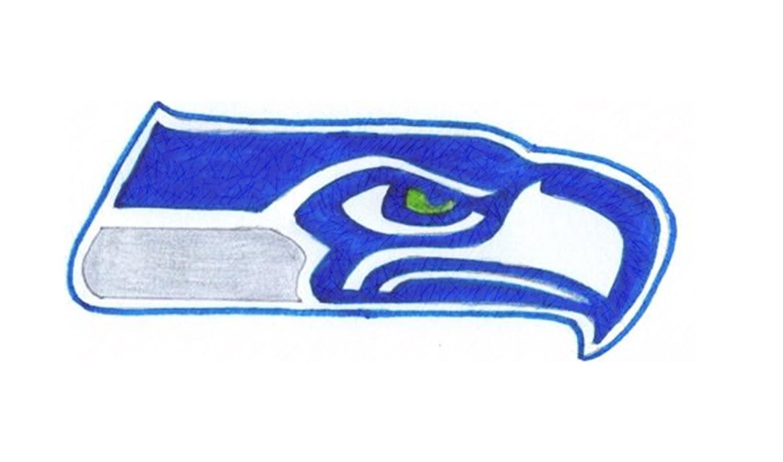 1500x885 Como Desenhar O Escudo Do Seattle Seahawks (Nfl)