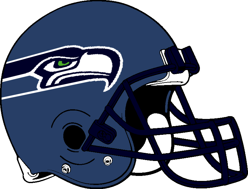 799x607 Seahawks Helmet 2002 2011 By Chenglor55