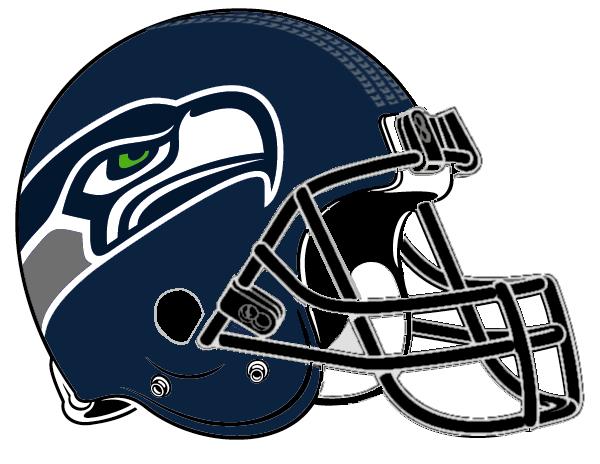600x464 Seattle Seahawks Helmet Clipart