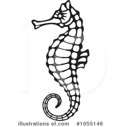 400x420 Seahorse Clipart