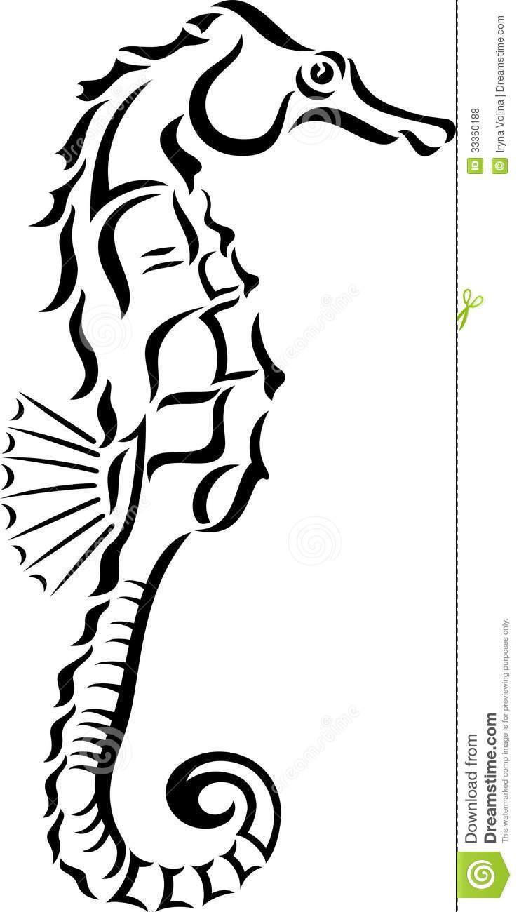 740x1300 Seahorse Clipart White Background