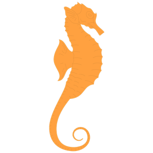 300x300 Seahorse clip art free clipart images 6 4